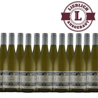 Weißwein Pfalz Muskateller Weingut Krieger Rhodter Ordensgut lieblich (12 x 0, 75 l)