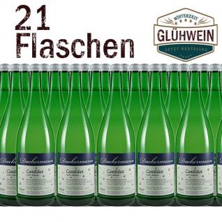 """Glühwein Rheinhessen Weingut Dackermann """" Candidus"""" weiß (21x1, 0l)"""