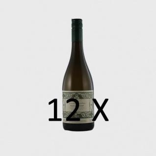 Weißwein Weingut Krieger Pfalz Riesling Rhodter Schloßberg 2016 Kabinett feinherb (12 x 0, 75l)