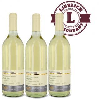 Weißwein Nahe Scheurebe Weingut Roland Mees Kreuznacher Rosenberg Qualitätswein lieblich (3 x 0, 75l)