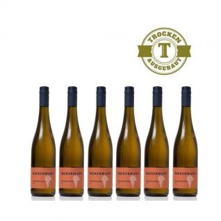 Weißwein Rheinhessen Grauburgunder Weingut Dackermann Gutswein trocken (6 x 0, 75 l)