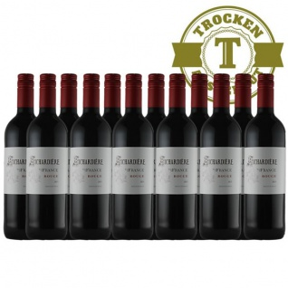 Rotwein Frankreich Vin de France Rouge (12 x 0, 75l)