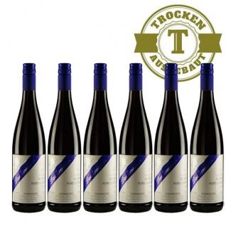 Rotwein Rheinhessen Blauer Portugieser Weingut Dackermann trocken (6 x 0, 75 l)