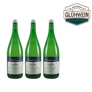 """Glühwein Weiß Weingut Dackermann """" Candidus"""" ( 3 x 1, 0l)"""