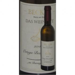 Weißwein Rheinhessen Weingut Becker Ortega Beerenauslese Barrique edelsüß (1 x 0, 375)