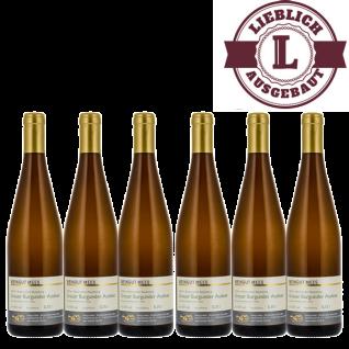 Weißwein Nahe Grauer Burgunder Weingut Roland Mees Kreuznacher Rosenberg Auslese lieblich (6 x 0, 75l)