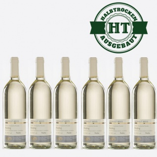 Weißwein Nahe Riesling Weingut Roland Mees Kreuznacher Paradies halbtrocken (6x0, 75l) - Vorschau 1