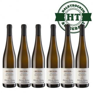 Weißwein Rheinhessen Silvaner Weingut Becker halbtrocken ( 6 x 0, 75 l)