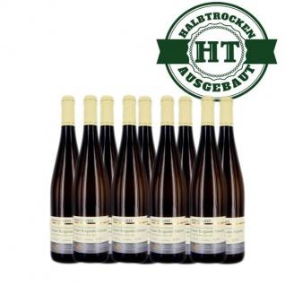 Weißwein Nahe Grauer Burgunder Weingut Roland Mees Kreuznacher Rosenberg Kabinett halbtrocken (9 x 0, 75l)