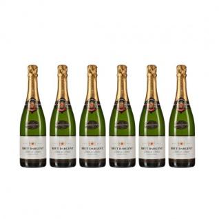 Brut Dargent Méthode Traditionnelle Chardonnay Sekt (6 x 0.75 l)