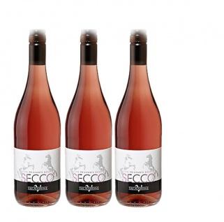Schaumwein Rosé Secco Valmarone (3x0, 75l)