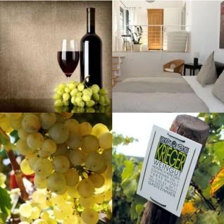 Rotwein Pfalz Spätburgunder Weingut Krieger Qualitätswein trocken (12 x 0, 75l) - Vorschau 3