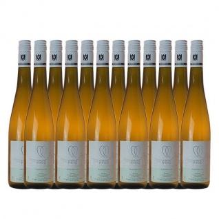Weißwein Rheingau Riesling Weingut Lorenz Kunz Classic feinherb (12x0, 75l)
