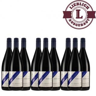 Rotwein Rheinhessen Dornfelder Weingut Dackermann mild (9 x 1, 0 l)