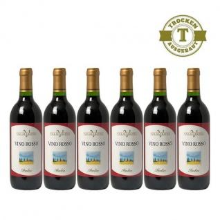 Rotwein Italien Cuvée Valmarone trocken (6 x 0, 75l)