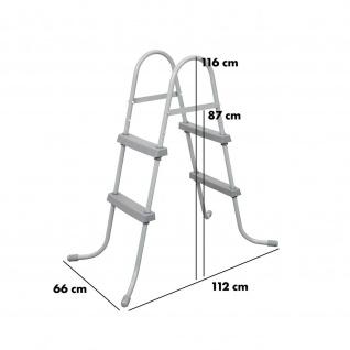 Bestway Leiter für Aufstellpools bis 0, 80 m Höhe - Vorschau 2
