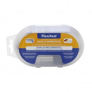 POWERHAUS24 Flexitest Chlor, pH-Wert & Algenschutz