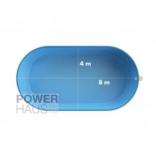 Waterman Ovalpool premium 8, 00 x 4, 00 x 1, 20 m - Vorschau 5