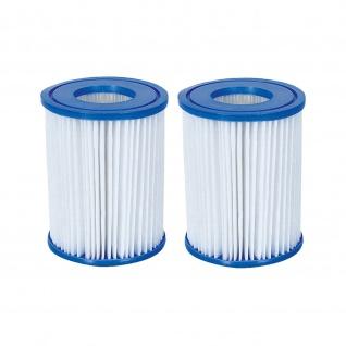 Bestway Filterkartusche Flowclear 1/20 HP Typ II, 2 x 2er Pack