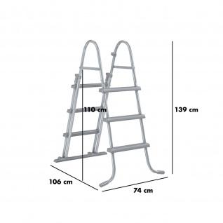 mediPOOL Rundpool-Set basic Ø 4, 50 x 0, 90 m - Vorschau 5