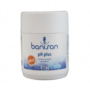 Banisan pH-Plus Granulat 500 g , Grundpreis: 11.80 € pro 1 kg