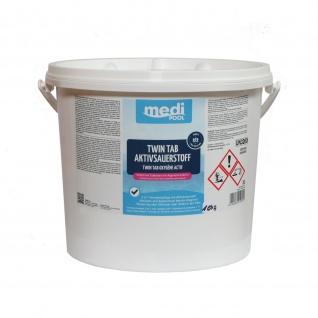 mediPOOL Twin Tab Aktivsauerstoff 10 kg , Grundpreis: 18.90 € pro 1 kg