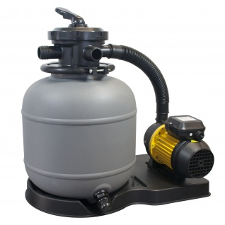 mediPOOL Sandfilteranlage SF122 mit 3 m³/h Leistung