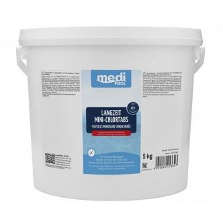 mediPOOL Langzeit MiniChlorTabs 5 kg , Grundpreis: 6.58 € pro 1 kg