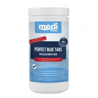 mediPOOL 4 in 1 Perfect Blue Tabs 1 kg