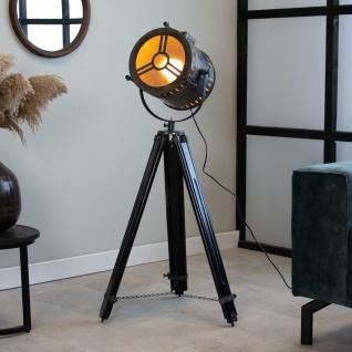 Finn Stehlampe Industrial Grau Tripod - Vorschau 1