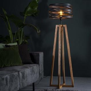 Twist Stehlampe Industrial Holz