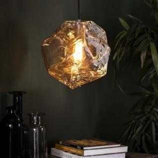 Rocks Pendelleuchte Vintage Chromglas