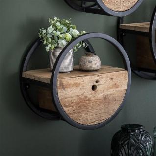Liv Wandregal Vintage Holz 40 cm