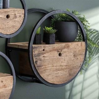 Liv Wandregal Vintage Holz 50 cm