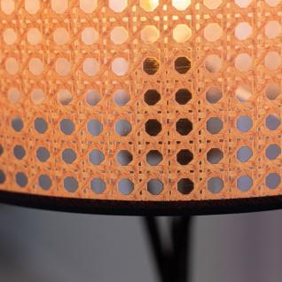 Airen Stehlampe Industrial Rund Rattan - Vorschau 5