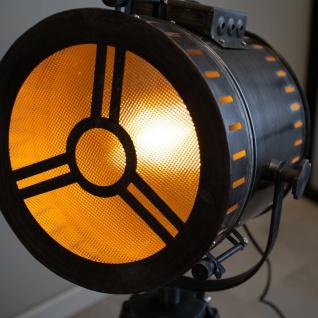 Finn Stehlampe Industrial Grau Tripod - Vorschau 3