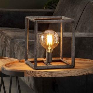 Winster Tischlampe Industrial Quadratisch