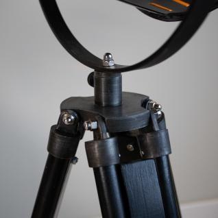 Finn Stehlampe Industrial Grau Tripod - Vorschau 5