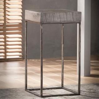 Meghan Beistelltisch Industrial Mangoholz 70cm