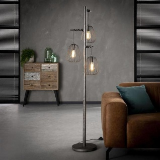 Mauro Stehlampe Industrial 3L