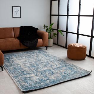Juul Teppich Vintage Blau/Grau 160x230cm
