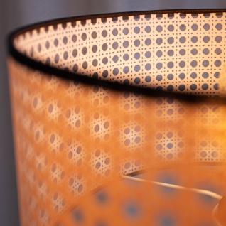 Airen Stehlampe Industrial Rund Rattan - Vorschau 4