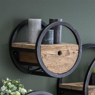 Liv Wandregal Vintage Holz 30 cm