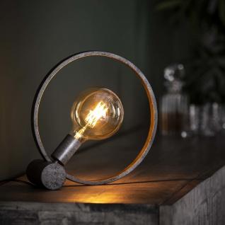 Winster Tischlampe Industrial Rund Ø30cm