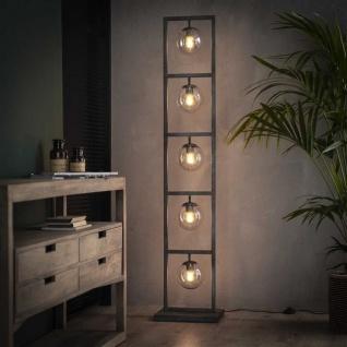 Willow Stehlampe Industrial 5-Leuchten