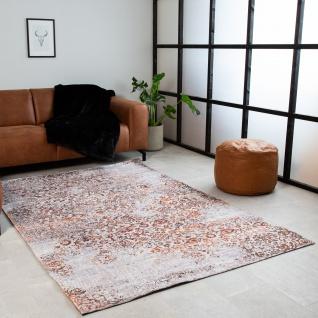 Dylan Teppich Industrial Orange/Weiß 160x230cm