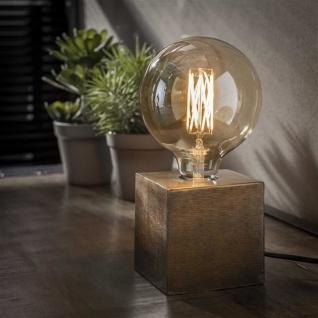 Block Tischlampe Vintage - Bronze