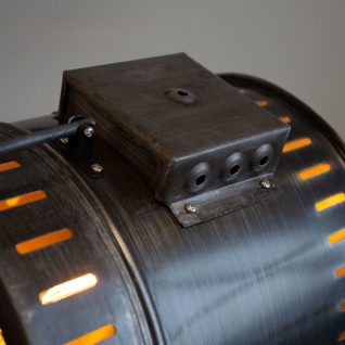 Finn Stehlampe Industrial Grau Tripod - Vorschau 4