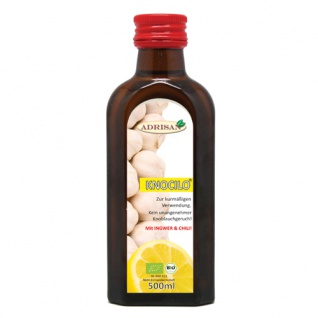 Adrisan Knocilo® Knoblauch-Zitrone BIO* - vegan 25