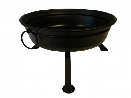 Best Sporting Feuerschale aus Stahl, schwarz, 60 cm Durchmesser